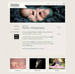 Charlee Photography - Wordpress Website