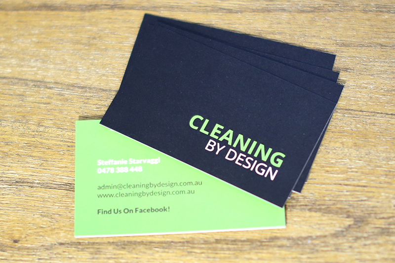 Cleaning By Design - Business Card