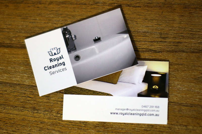 Royal Cleaning Services Qld - Business Card
