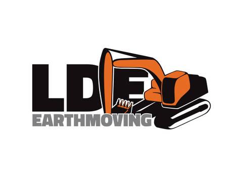 LDE Earthmoving - Logo Design