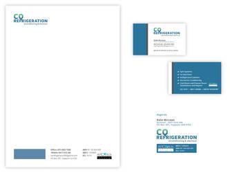 CQ Refrigeration - Stationary and Branding Design
