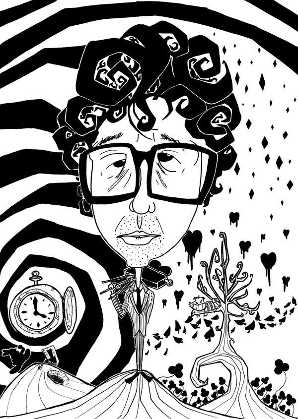 Tim Burton Alice in Wonderland by tibots on DeviantArt
