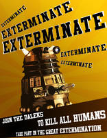Dalek propaganda - exterminate by tibots