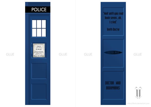 Doctor Who bookmark by tibots