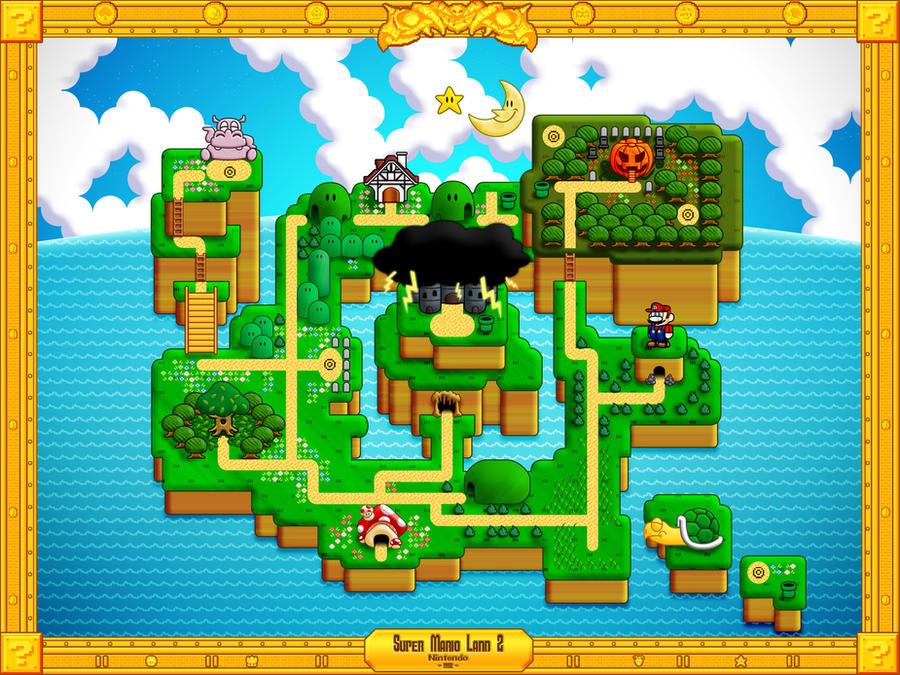 Super Mario Land 2 By Tibots On Deviantart