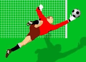 goalkeeper by Shiroima