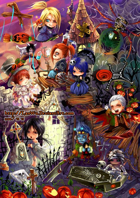 Akatsuki - Halloween by LanWu
