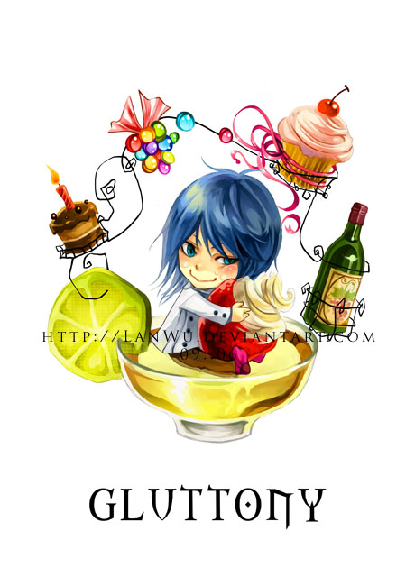 7 Deadly Sins - Gluttony by LanWu