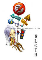 7 Deadly Sins - Sloth by LanWu