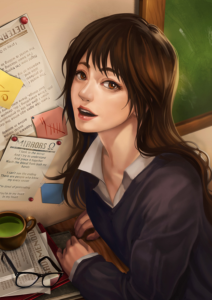 Studying by LanWu