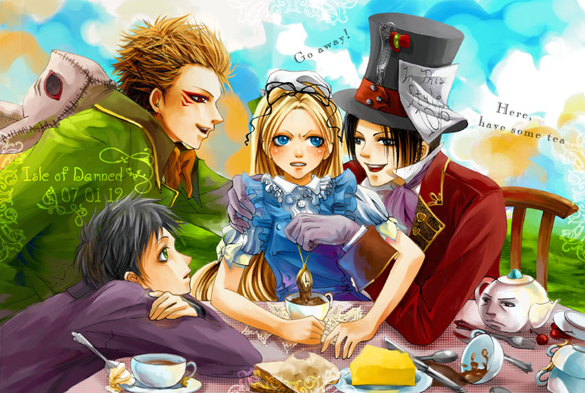 The Mad Tea Party By LanWu On DeviantArt