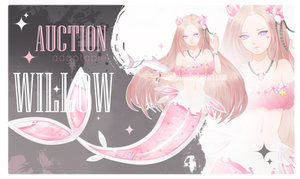 [CLOSED] Pink Shark auction CS WILLOW GUEST ARTIST by SashaKim