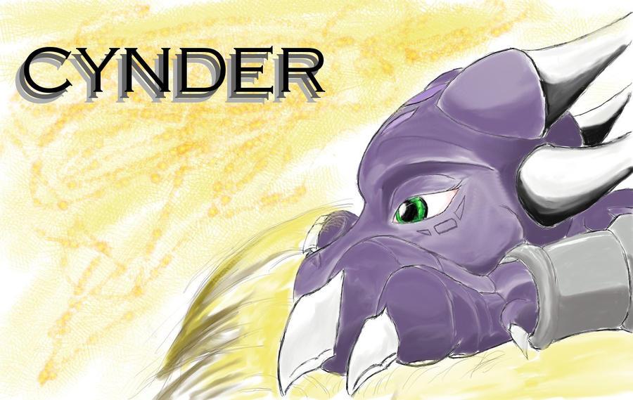 Cynder in a nest by KiwaTec