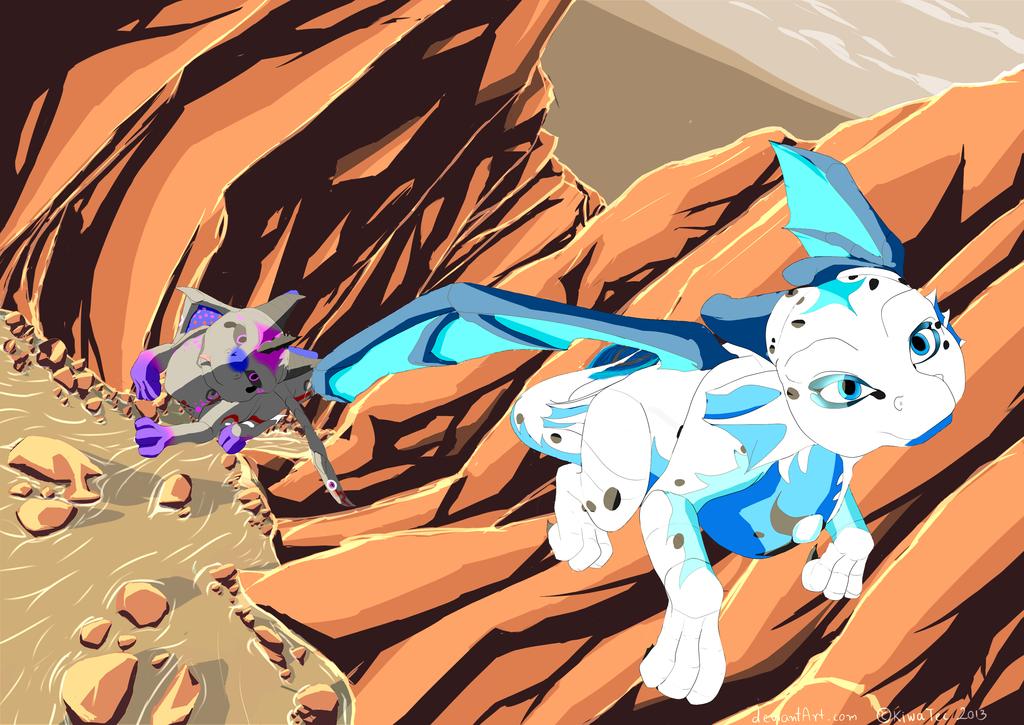 Canyon Race by KiwaTec