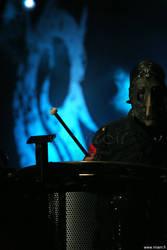 Slipknot, Chris Fehn staring