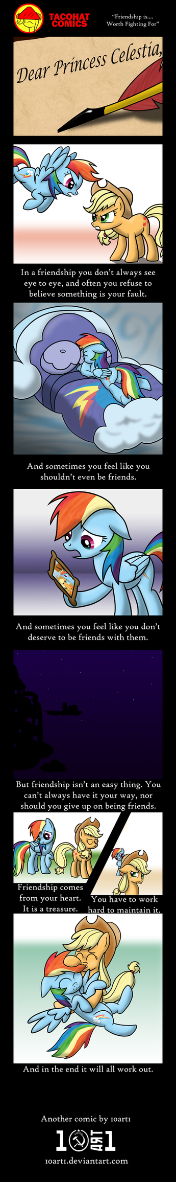 Friendship Is... Worth Fighting For by 10art1