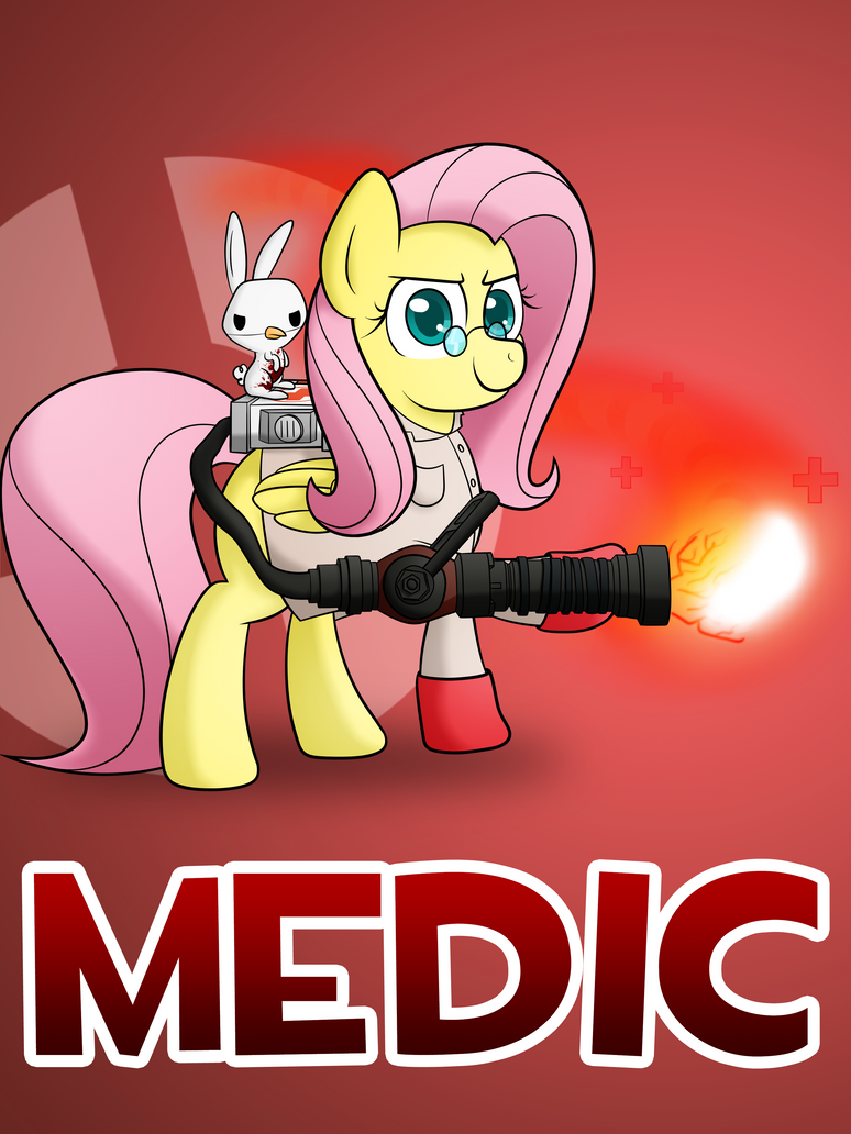 Pony Fortress 2: Medic by 10art1