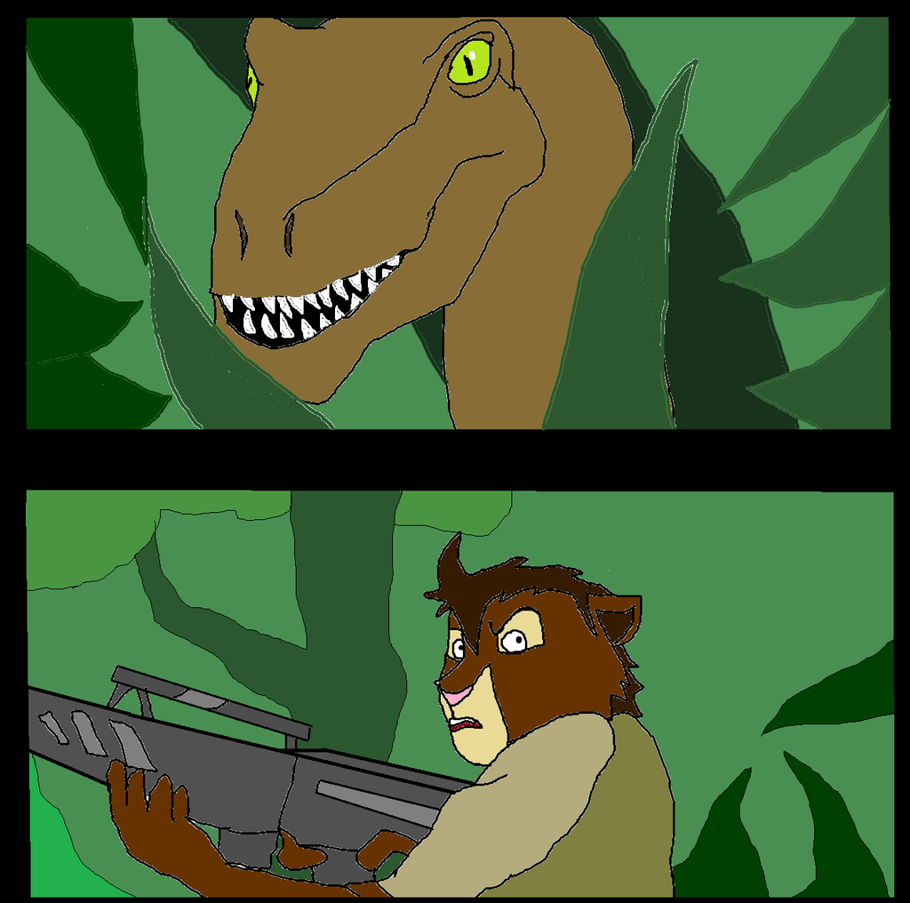 Clever Girl Blue: Clever Girl By Dandinofthebluefire On
