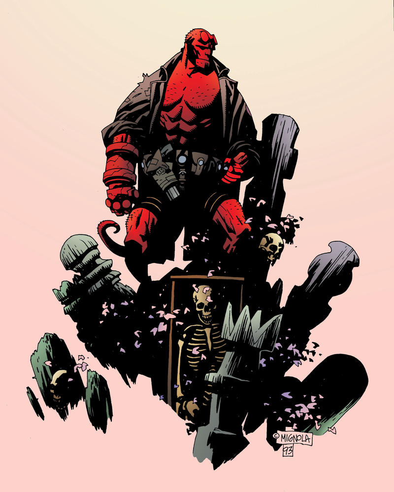 Mike Mignola Hellboy Wallpaper 13148 Loadtve