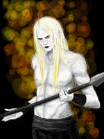 Nuada Silverlance by twisted-sense