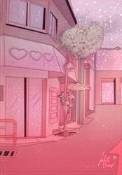 pink day by JulietteDraw