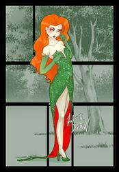 poison ivy by JulietteDraw