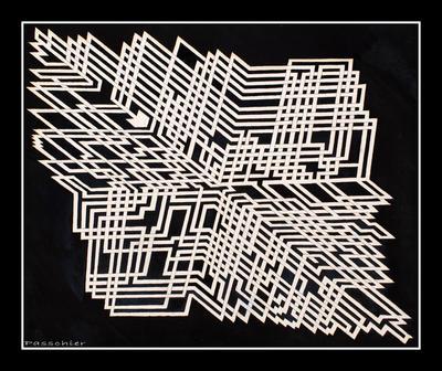 Maze 1 by DPasschier