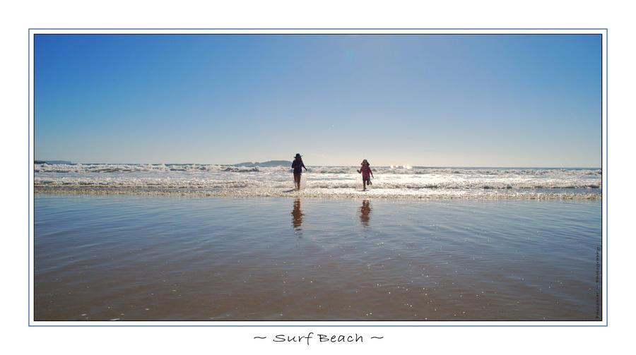 Surf Beach by DPasschier