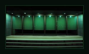 The Green Door by DPasschier