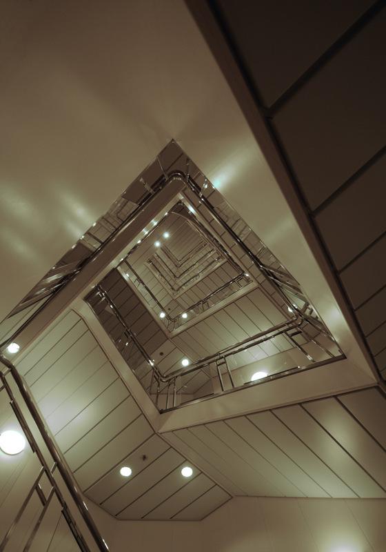 Stairwell by DPasschier