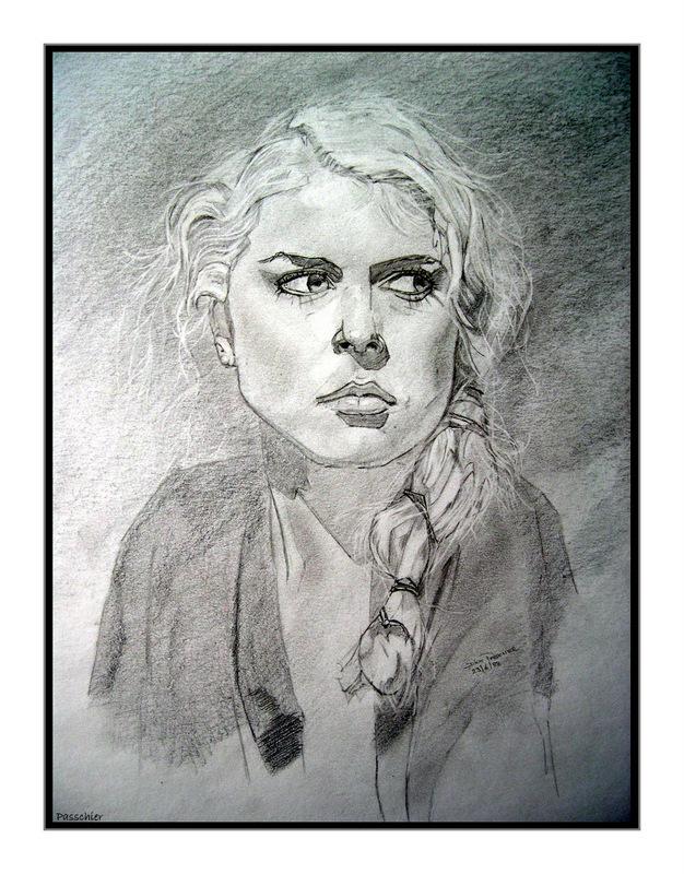 Woman by DPasschier