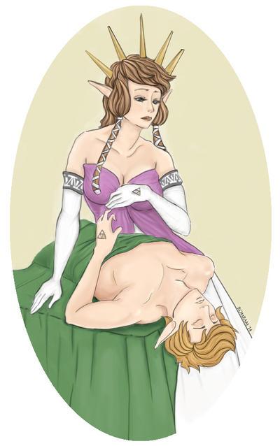 Zelda Mucha by Ragidonne