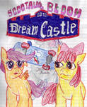 Scoolaloo and AppleBloom Go To Dream Castle