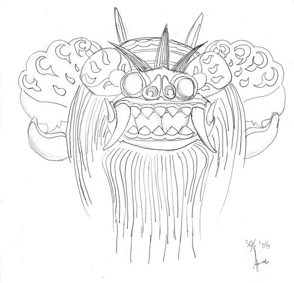 3097478 in addition Alesha Dixon Wallpapers further Backwater Sunset Brian Christensen besides Clipart Melonheadz also WiP Balinese Barong Mask 91160462. on beach drawings in pencil