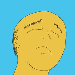 Bald, Sad Man by Lemi4
