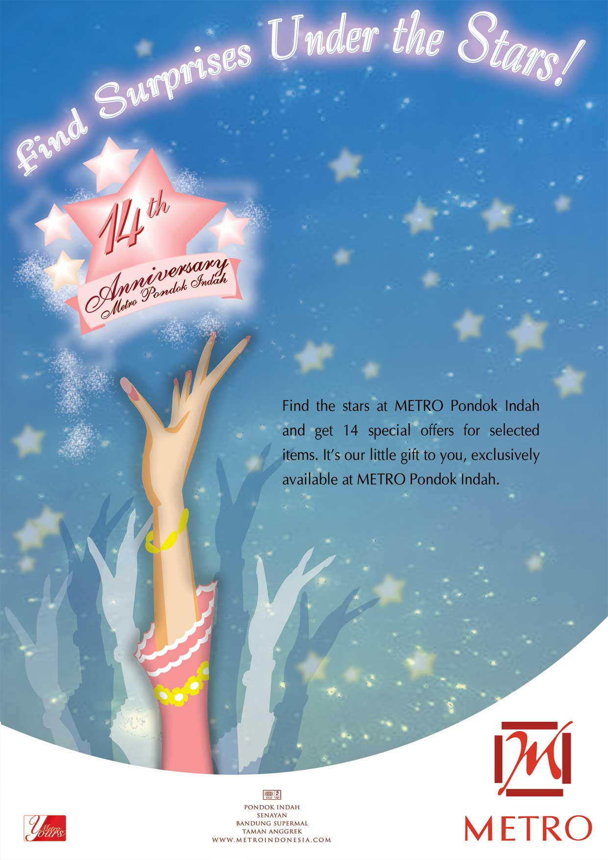 Metro Stars - 14th anniversary by Lemi4