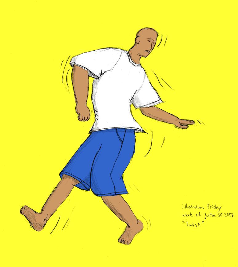 Illustration Friday - Twist by Lemi4