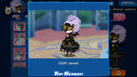 KHUx player Halloween outfit