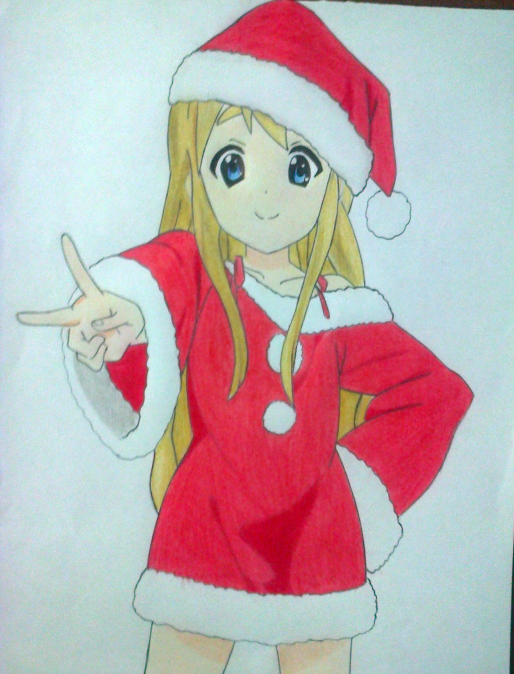 Tsumugi Kotobuki Merry Christmas Fan Art Draw By EvilCaio On DeviantArt
