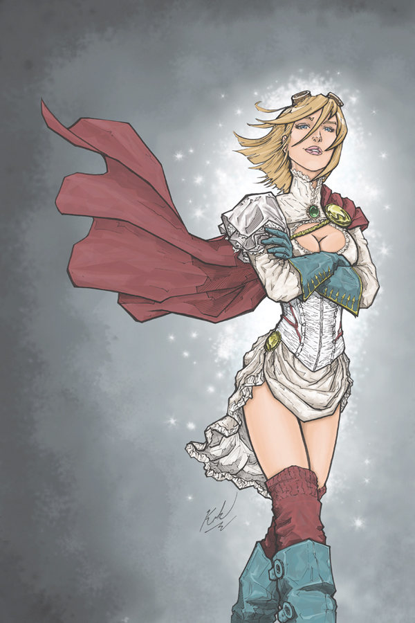 Gogs N Gears 2013 Power Girl by johnni-k