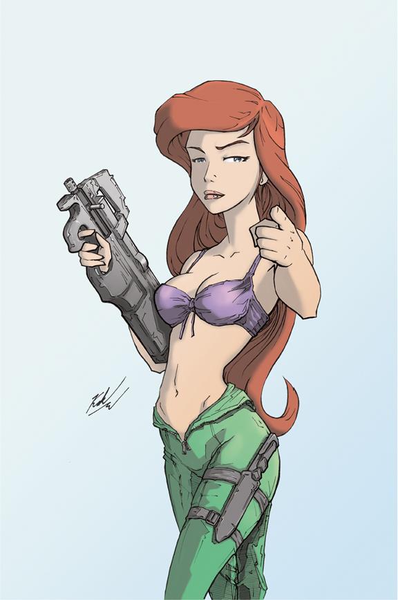 Kill Team Princess 2013 Ariel by johnni-k
