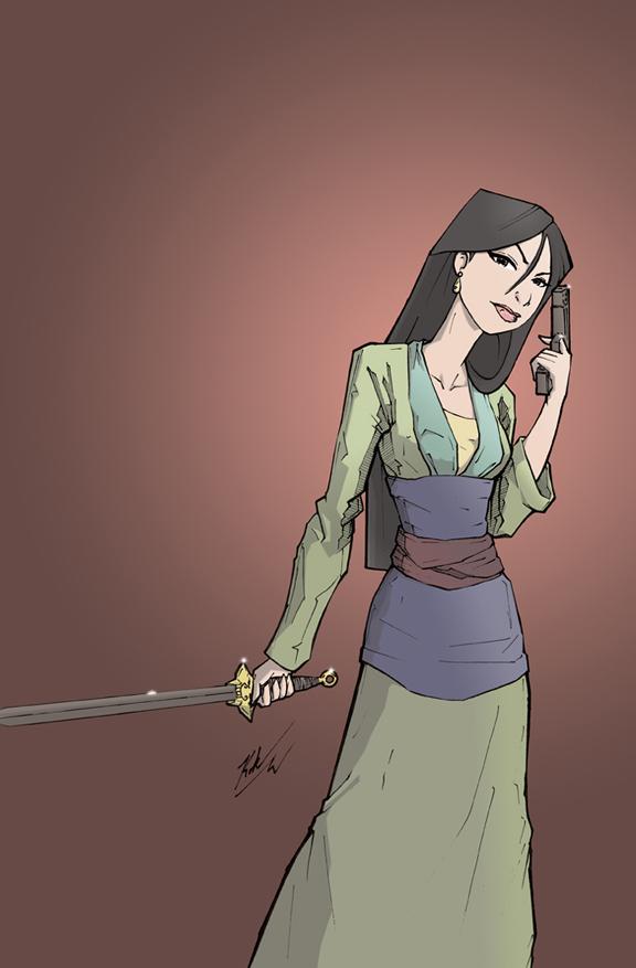 Kill Team Princess 2013 Mulan