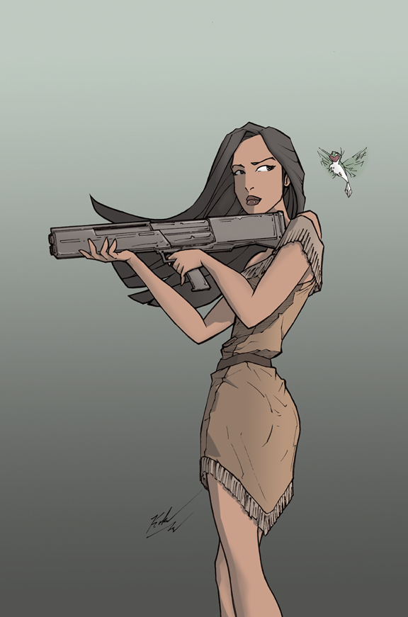 Kill Team Princess 2013 Pocahontas by johnni-k