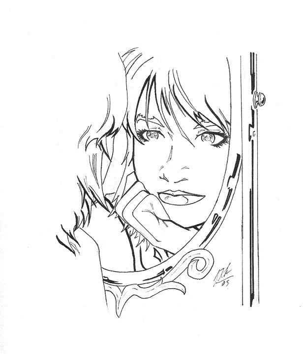 Take a look in the mirror by johnni k on deviantart for Mirror drawing