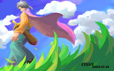 Walking under the sky Ver2 by cissy