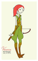 veronica the ranger by cissy
