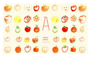 A for Apple by cissy