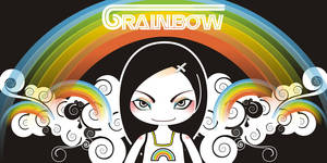 6 rainbow character: Ming