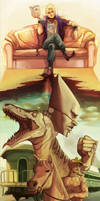 [Jojo's Bizarre Adventure] DIO. by cacogenic