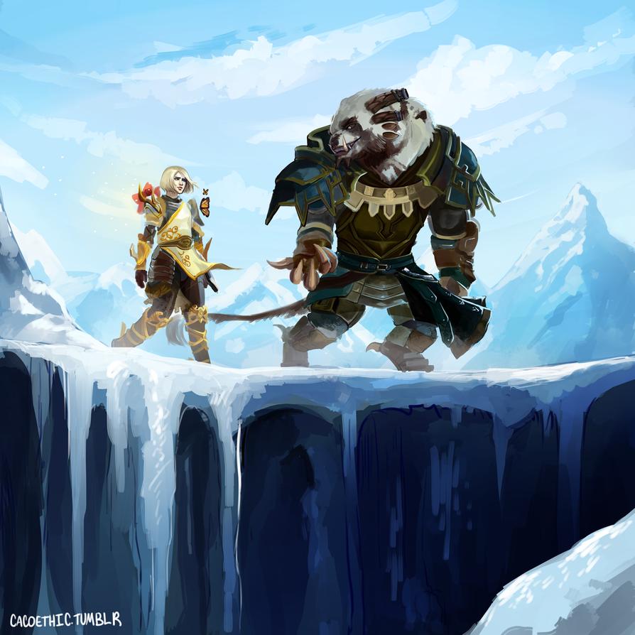 [Guild Wars 2] Ophaer And Pemphigo. By Cacogenic On DeviantArt